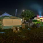 Food trucks, Bluedot festival